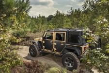 Zestaw ochronnych paneli magnetycznych, 07-16 Jeep Wrangler JK, 2-drzwi