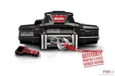 Wyciągarka WARN® ZEON 10 Platinum™ CE : pilot bezprzewodowy, z liną stalową, silnik 12V, uciąg 10000lbs/4500kg