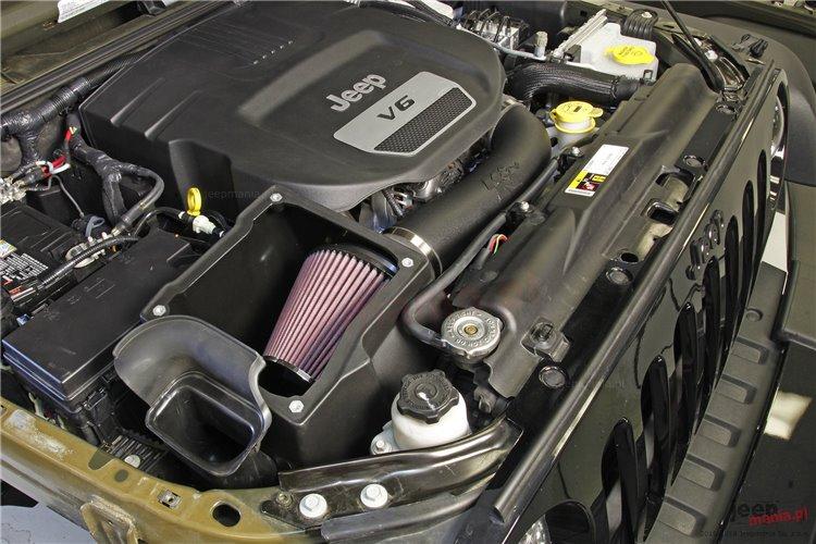 Snorker i filtr dolotowy, 3.6 benzyna : 07-17 Jeep Wrangler JK