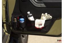 Schowek na drzwi, para, z woreczkami : 11-18 Jeep Wrangler JK/JKU