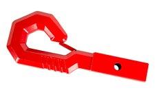 Hak, model Giga Hook, czerwony, do gniazda USA, 2 calowego