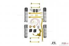 Podniesienie zawieszenie, seria True Dual Rate, 3.5″, komplet bez amortyzatorów : Jeep Wrangler JK