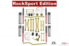 Podniesienie zawieszenia, seria Game Changer, RockSport Edition, 2.5″/3.5″ : Jeep Wrangler JK