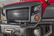 Grill Spartan : 07-17 Jeep Wrangler JK