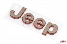 Emblemat, logo Jeep, kolor spiżowy : Jeep - uniwersalny