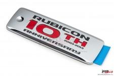 Rubicon 10th Anniversary Badge : 2013 Wrangler Rubicon JK