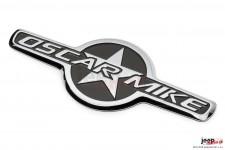 Emblemat Oscar Mike, kultowa gwiazda : Jeep Wrangler JK