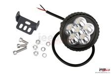 Lampa LED, okrągła, 3,5 cala : 18W, 6 x 3W Epistar XT