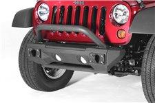 Zderzak serii All Terrain - zestaw z krótkimi końcówkami i poprzeczką : 07-18 Jeep Wrangler JK/JKU
