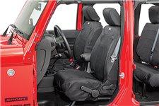 Pokrowce na siedzenia przednie, seria Ballistic, podgrzewane : 11-17 Jeep Wrangler JK