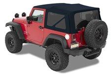 Dach miękki, Supertop® NX Twill, Ciemnoniebieski (Navy Blue) : 07-18 Jeep Wrangler JK 2 drzwiowy