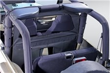 Przegroda kabiny, osłona od wiatru, Black Denim : 80-06 Jeep CJ/Wrangler YJ/TJ