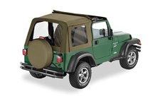 Dach miękki, Sunrider™, Korzenny (Spice) : 97-02 Jeep Wrangler TJ