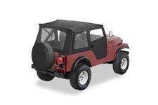 Dach miękki, Supertop® Classic, Czarny Dżinsowy (Black Denim) : 76-83 Jeep CJ-5