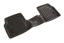 Dywanik podłogowy, tylny, czarny : 18-18 Jeep Compass MP