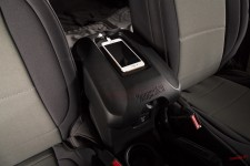 Center Console Cover, W/Phone Holder, Black : 11-18 Jeep Wrangler JK