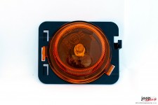 Kierunkowskaz boczny w nadkole, pomarańczowy, EXPORT, lewy : 07-17 Jeep Wrangler JK