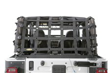 Siatka Bagażowa, CRES HD - Cargo Restraint System, czarna : 97-06 Jeep Wrangler TJ