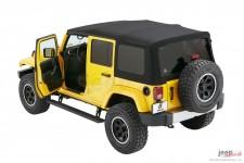 Elektryczne Stopnie Wejściowe, PowerBoard® NX, Wi-Fi : 07-18 Jeep Wrangler Unlimited JK