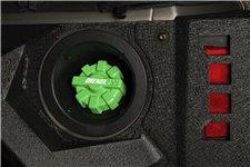 Korek wlewu paliwa, seria Elite DIESEL, aluminiowy, zielony : 01-18 Jeep Wrangler TJ/LJ/JK/JKU