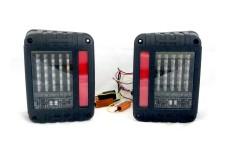 Lampy tylne LED, model BLADE V : wersja europejska, Jeep Wrangler JK 2007+