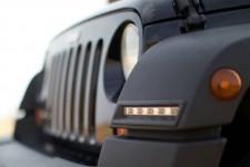 Światła LED do jazdy dziennej, DRL i pozycyjnymi : 07-18 Jeep Wranger JK