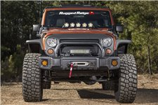Zderzak Spartacus Stubby, Skrócony, Czarny : 07-18 Jeep Wrangler JK/JKU