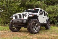 Zderzak Spartacus Stubby, Skrócony, Czarny : 18-18 Jeep Wrangler JL/JLU