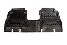 Dywaniki Podłogowe, Tylne, Czarne : 18-18 Jeep Wrangler Unlimited JLU, 4 drzwiowy