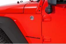 Nalepka oryginalna, Wrangler, czarna : Jeep Wrangler JK