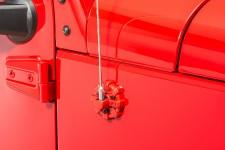 Osłona mocowania anteny serii Elite, czerwona : 07-18 Jeep Wrangler JK/JL