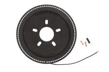Trzecie Światło Stop, pierścień LED na koło zapasowe : 18-18 Jeep Wrangler JL/JLU