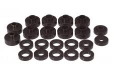 Zestaw montażowy karoserii, czarny : 76-79 Jeep CJ5/CJ7