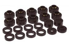 Zestaw montażowy karoserii, czarny : 80-86 Jeep CJ5/CJ7