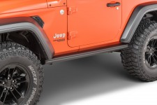 Osłony progów, Performance Rock Rails : 18-19 Jeep Wrangler JL 2 Door