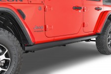 Osłony progów, seria Rubicon Rocker Guards : 18-19 Jeep Wrangler Unlimited JL 4 Door