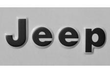 Oryginalna Naklejka, Jeep, Czarna : 76-95 Jeep CJ-5, CJ-7, CJ-8 Scrambler & Wrangler YJ