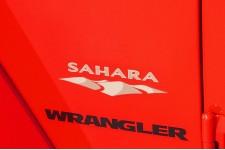 """Oryginalna Naklejka, """"Sahara"""" : Jeep Wrangler JK"""