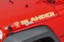 """Islander"" Hood Decal : Jeep Wrangler JK"