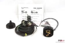 Wiązka elektryczna do haka holowniczego, dedykowana, 7-PIN : Jeep Wrangler JK