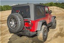 Dach miękki Montana, Black Diamond : 04-06 Jeep Wrangler Unlimited LJ