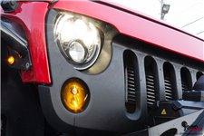 Kierunkowskazy LED, model Czarny Kot : 07-18 Jeep Wrangler JK
