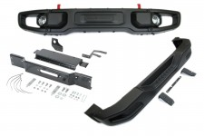 Front and Rear Off Road bumper set, Mopar® Rubicon 10th Anniversary