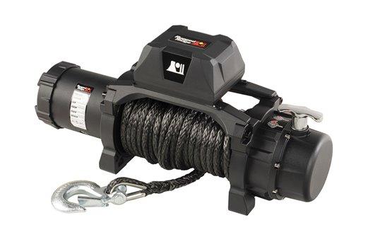 Trekker Winch, 10,000 LBS, Synthetic Rope, IP68 Waterproof, Wireless