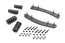 Oversize Spare Tire Carrier Mounting Bracket Kit : 18-19 Jeep Wrangler JL