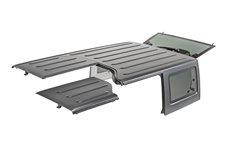 Dach twardy, 3 częściowy, panele Freedom : 09-18 Jeep Wrangler Unlimited JK 4 drzwiowy