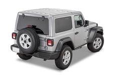 Dach twardy, 3 częściowy, panele Freedom, primerowany do malowania : 18-19 Jeep Wrangler JL 2 drzwiowy