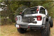 Spartacus HD Tire Carrier, Kit : 18-19 Jeep Wrangler JL