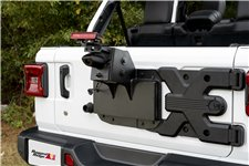 Spartacus HD Tire Carrier, Wheel Mount : 18-19 Jeep Wrangler JL