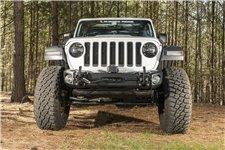 Zderzak przedni Arcus z płytą wyciągarki i hakami : 18-19 Jeep Wrangler JL & Gladiator JT